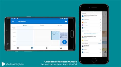 android office 365 calendari condivisi outlook disponibili su ios e android in arrivo su windows 10 mobile