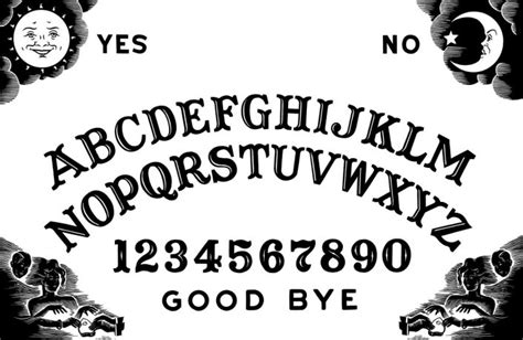 printable ouija board template diy ouija board necklace archives diyhalloweencrafts