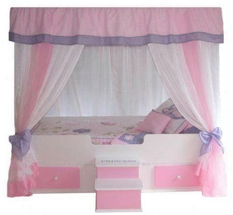 Canopy Toddler Beds For by Toddler Canopy Bed Ebay