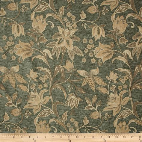 floral chenille upholstery fabric kaslen saxon floral chenille jacquard venetian discount