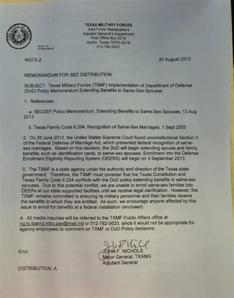 Hardship Letter National Guard National Guard Won T Process Benefits For Same Couples Update Kut
