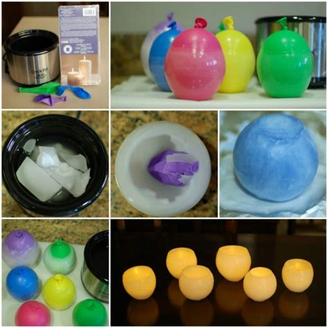 how to make decorative candles at home diy make wax luminaries