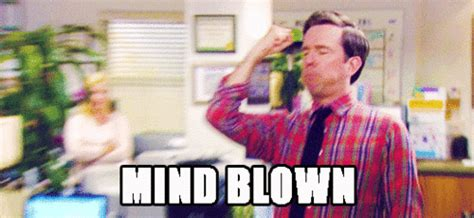 Mind Blown Meme Gif - the office mind blown gif find share on giphy