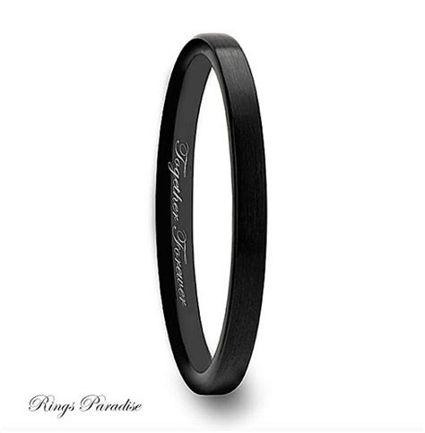 Wedding Bands Black by 1000 Ideas About Black Wedding Bands On