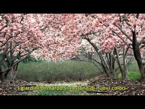 i giardini di marzo con testo i giardini di marzo lucio battisti con testo