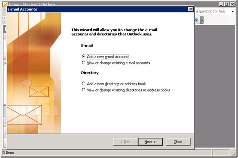 how to add email accounts to microsoft outlook image gallery new email account