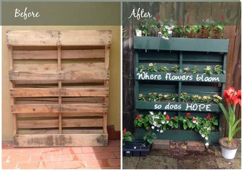 Diy Pallet Vertical Garden 9 Surprising Twists On Planter Boxes Landscaping Cape