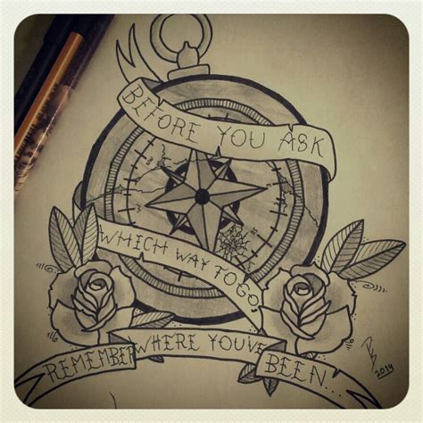 broken compass tattoo broken compass design by parkwayperry on deviantart