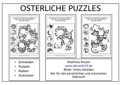 puzzles zu ostern