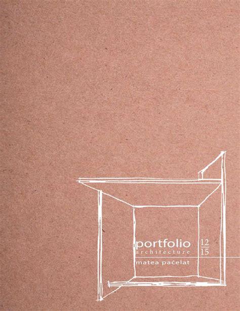 pattern drafting portfolio architecture portfolio matea paćelat architecture
