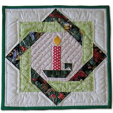 candlestick quilt pattern x mas quilt candle sewing pinterest christmas