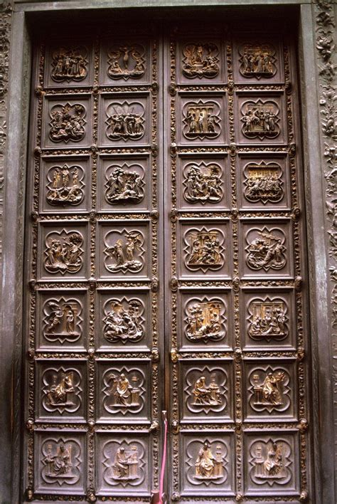 Ghiberti Doors by Italy Renaissance History 105 With At
