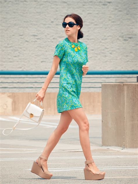 Dress Wedges Motif 7 ways to wear the paisley trend glam radar