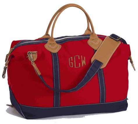 Simply Fab Bodas Travel Bags by Monogram Large Canvas Duffel Bag