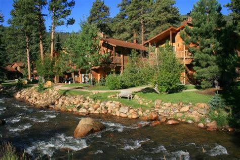 estes park cottages on the river woodlands on fall river estes park co resort reviews resortsandlodges