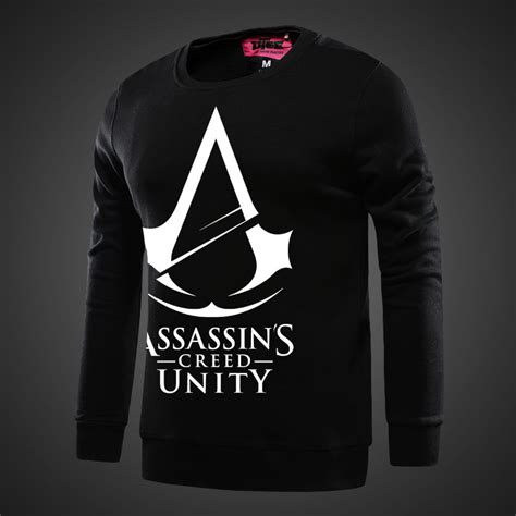 Hoodie Assassins Creed Unity assassin s creed unity hoodie black sweatshirts for