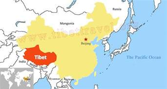 Tibet World Map by Where Is Tibet Located On Map Of China Asia And World