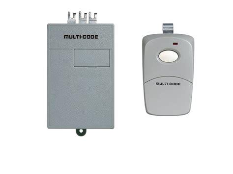 Multi Code Garage Door Remote Multi Code Garage Door Opener Remote Replacement Kit 1 3089 Remote 1 1090 Receiver 300 Mhz