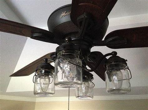 Vintage Mason Jar Ceiling Fan Light Kit Ceiling Fan Light