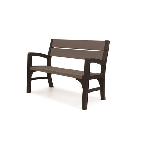 outdoor bench modern outdoor plastic bench tags resin garden bench front