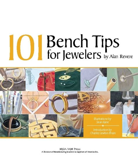 benching tips 101 bench tips for jewelers by alan revere