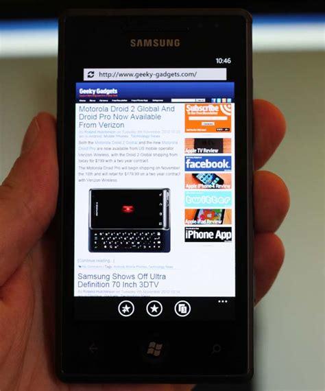 Samsung Omnia 7 samsung omnia 7 review
