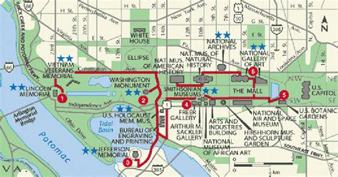 washington dc city layout map capitales d am 233 rique du nord