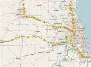Chicago Tollway Map by Il Toll Map Pictures To Pin On Pinterest Pinsdaddy