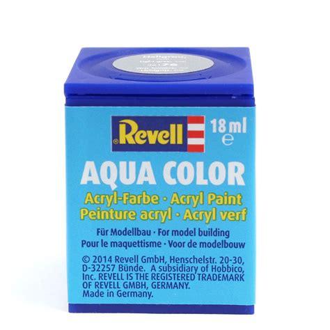 revell aqua colour acrylic paints 18ml pots model painting gloss matt metallic