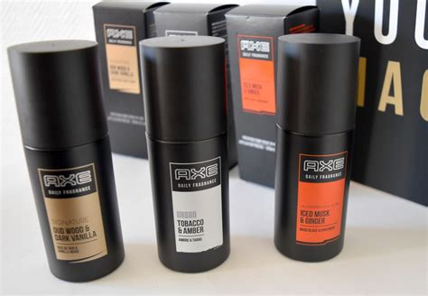 Parfum Axe Black la collection axe daily fragrances test avis