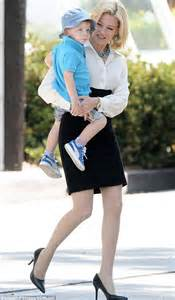 elizabeth banks children it s take your to work day for elizabeth banks and