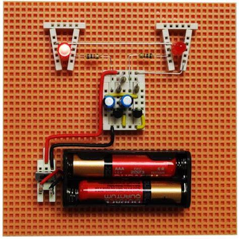 electricity magnetism 5eboard how to make led lights blink