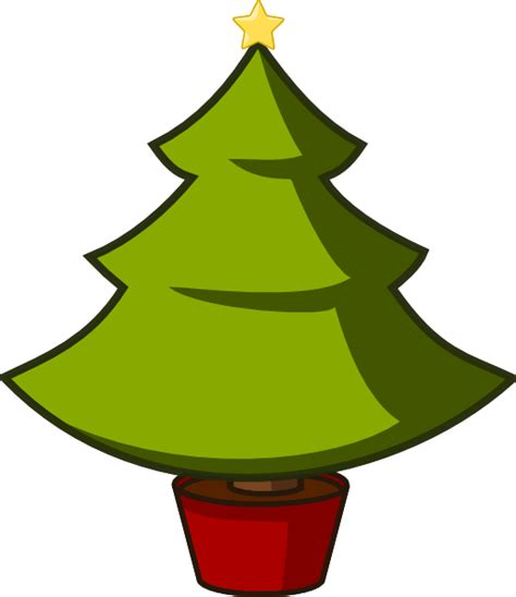 christmas tree cartoon ria9dedil public domain tree clip at clker vector clip royalty free domain