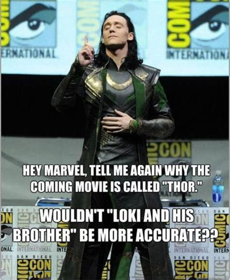 thor movie jokes funny quotes about loki quotesgram