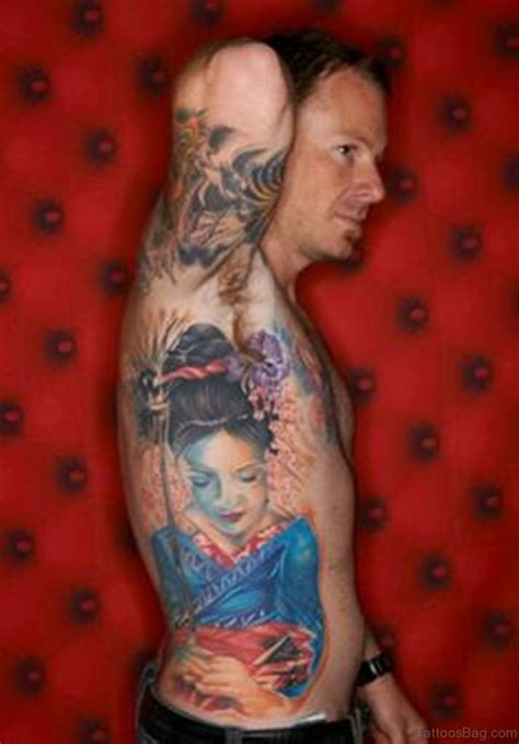 geisha tattoo for men 50 outstanding geisha for rib