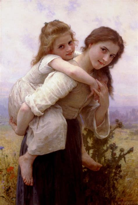 by william bouguereau two sisters bensozia william adolphe bouguereau the most hated painter