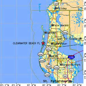 clearwater florida map area clearwater florida fl population data races
