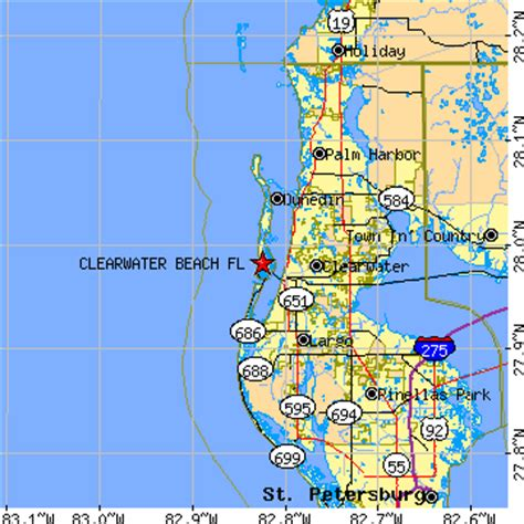 zip code map clearwater fl clearwater beach zip code map zip code map