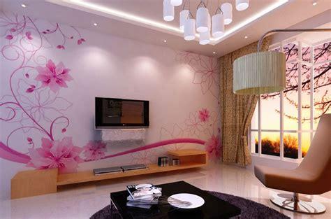 memilih wallpaper cantik  ruang tamu  beauty life