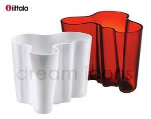 iittala aalto vase 160mm white by alvar aalto and