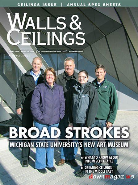 Walls And Ceiling Magazine by Walls Ceilings January 2013 187 Pdf Magazines