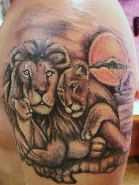 tattoos imagenes leones toop tattoo los reyes de la selva toop tattoo alicante