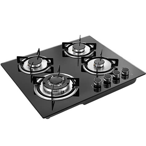 glass cooktop tempered glass 4 burners stove gas cooktop ceramic glass