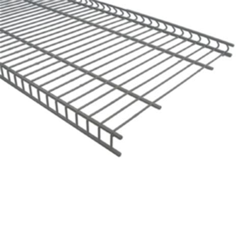 Closetmaid 16 Wire Shelving by Shop Closetmaid 48 Quot W X 16 Quot D Wire Shelf At Lowes