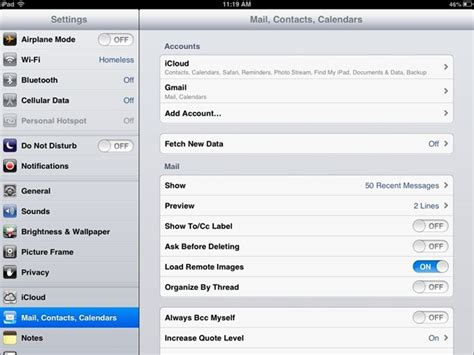 Mail Calendar How To Setup Contact Sync On The Insight