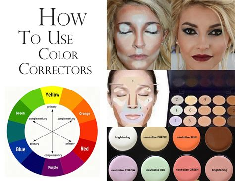 pink color corrector how to use color correctors