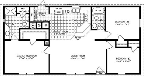 3 bedroom mobile home floor plans 1000 to 1199 sq ft manufactured home floor plans