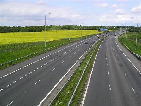 the motorpany m2 motorway in kent c david rayner geograph britain
