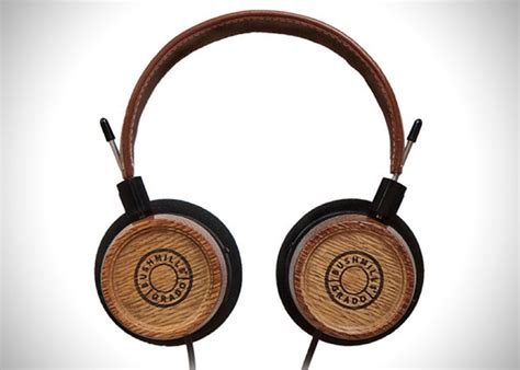 Handmade Headphones - brown leather dj s