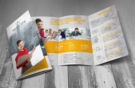 business consulting brochure templates  facilitating